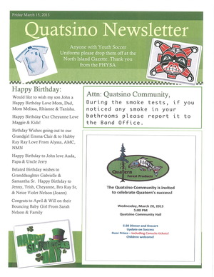 Front pg Newsletter