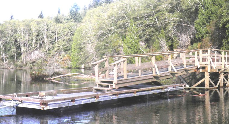 New Wharf in our Old Village! by Cary-lee